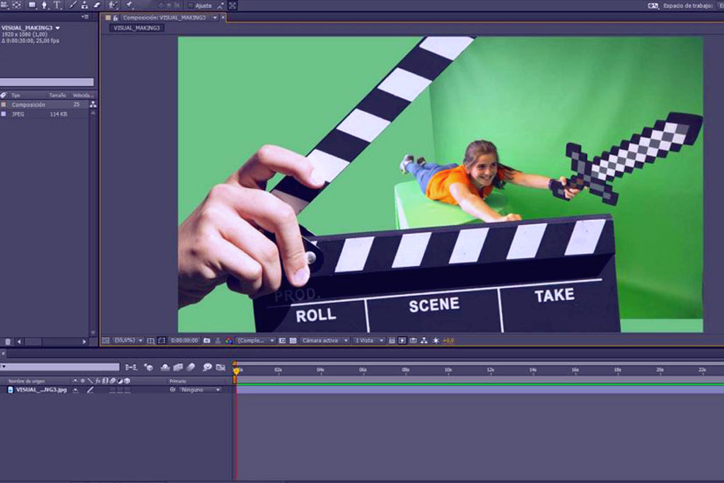 Efectos visuales y Motion Graphics con After Effects
